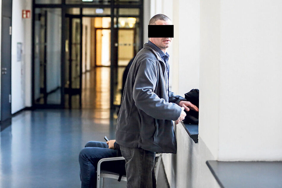 Sven Z. (40) hatte Glück, das Verfahren gegen ihn wurde eingestellt.