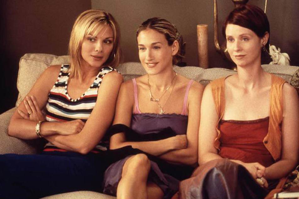 Samantha (Kim Cattrall), Carrie (Sarah Jessica Parker) und Miranda (Cynthia Nixon).