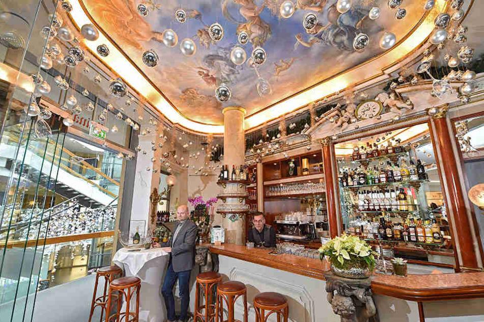 """Klein, aber fein: Aus dem ehemaligen Café wurde die Bar """"Le Q""""."""