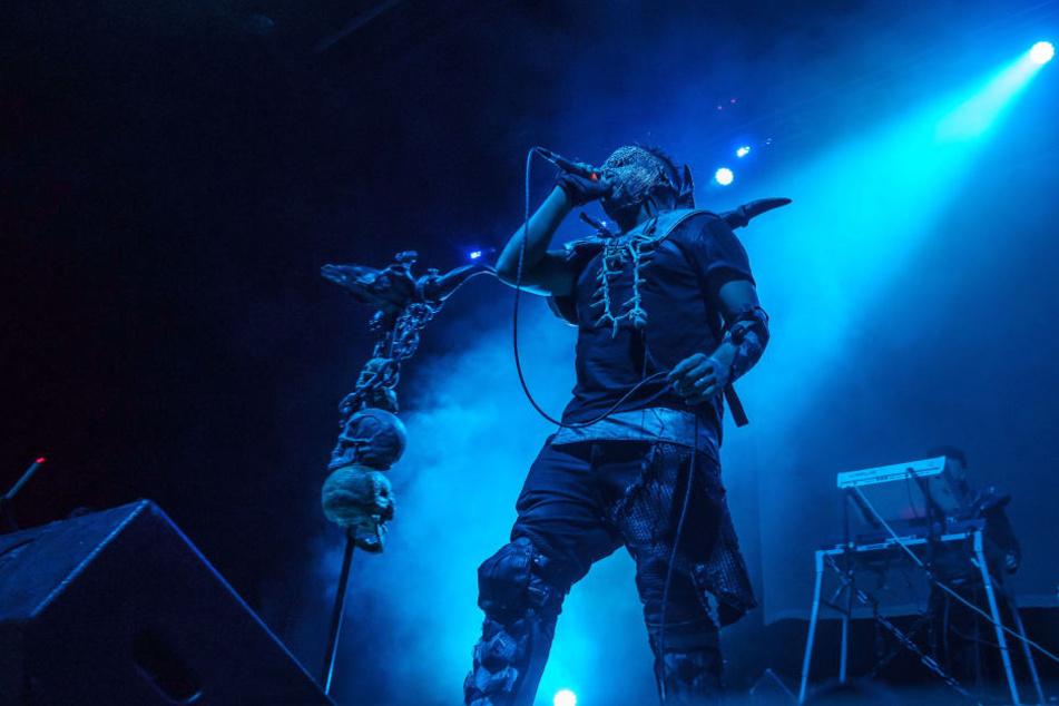"""13 Bands waren beim Festival dabei, darunter auch die mexikanische Band """"Hocico"""""""