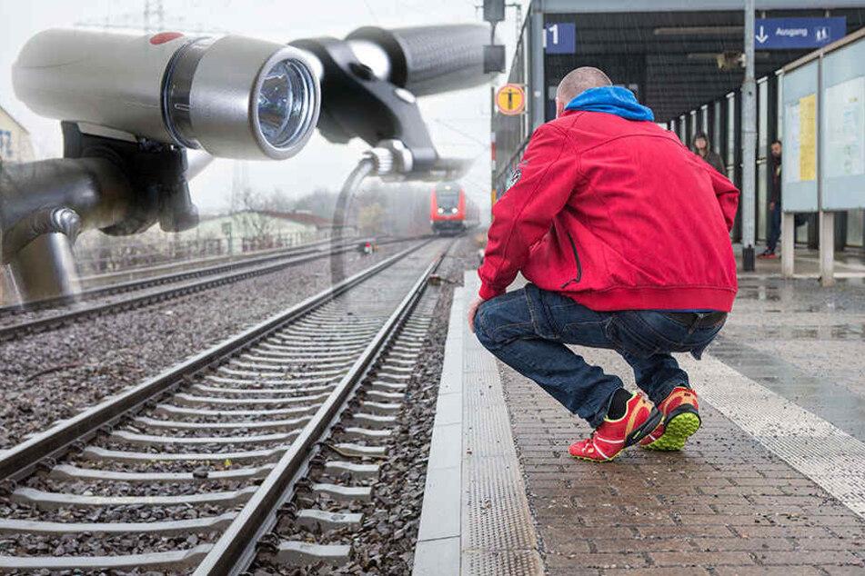 Nur weil der Lokführer ein Licht auf den Gleisen sah, lebt René J. (41) noch.