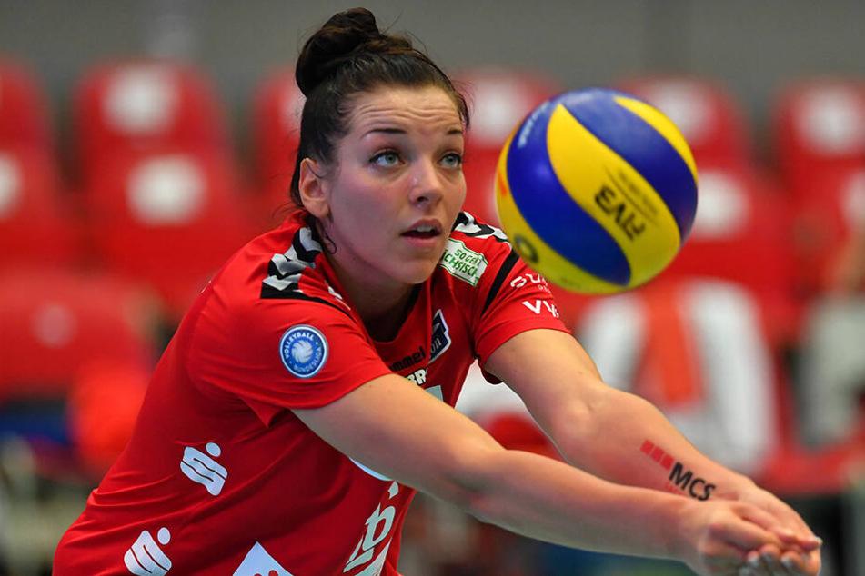 Katharina Schwabe will ins Ausland wechseln.