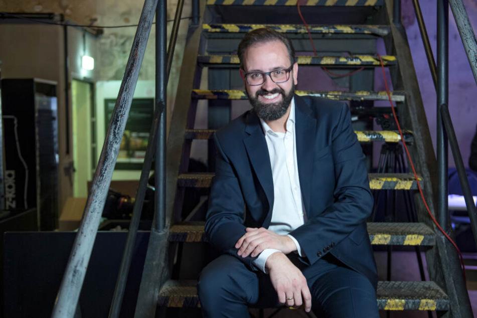 Sachsens Justizminister Sebastian Gemkow tritt bei der OB-Wahl 2020 gegen Amtsinhaber Burkhard Jung an.