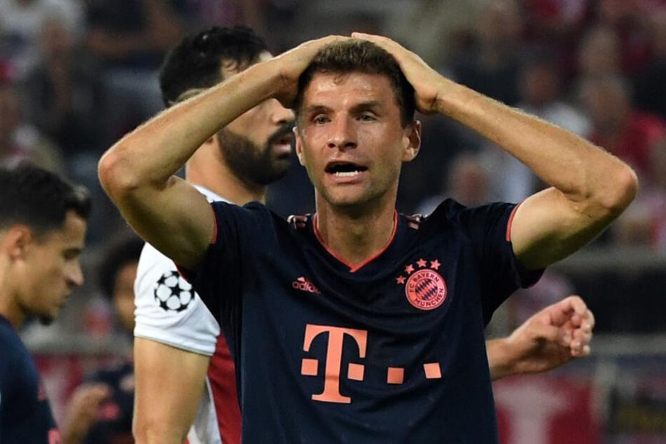 Thomas Müller durfte zum ersten Mal seit sechs Pflichtspieler von Beginn an ran.