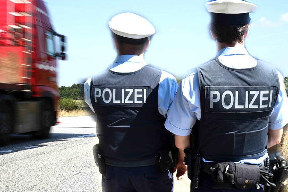 Polizisten wurden zu einem Einsatz auf der A4 gerufen.