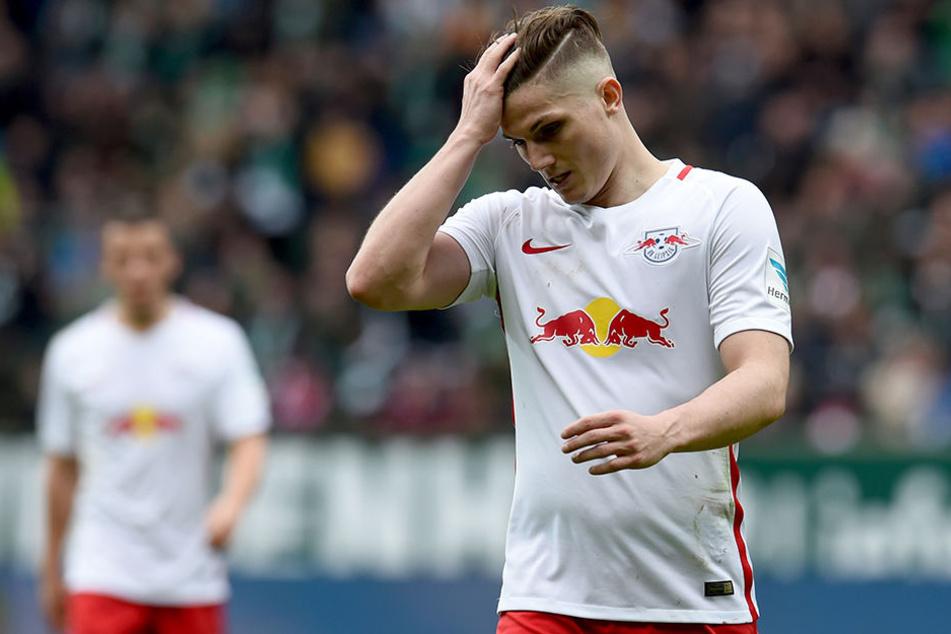 Marcel Sabitzer wird am Dienstag nicht gegen Georgien antreten können.