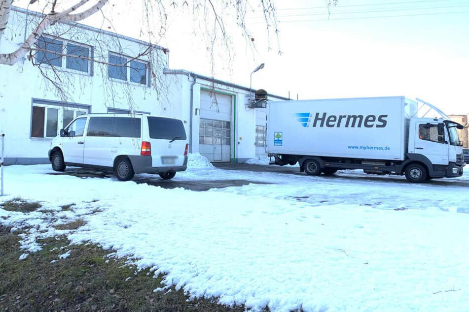 Einbruch in Hermes-Lager in Heidenau: Diebe lassen 150 Pakete mitgehen!
