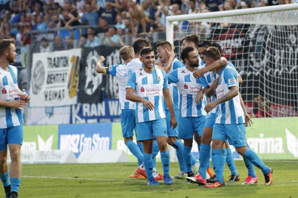 Der CFC muss am Samstag gegen den SV Babelsberg ran.