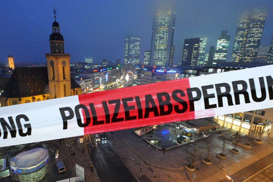 Die Kripo ermittelt wegen des Verdachts eines versuchten Tötungsdeliktes in der Frankfurter Innenstadt (Symbolbild).