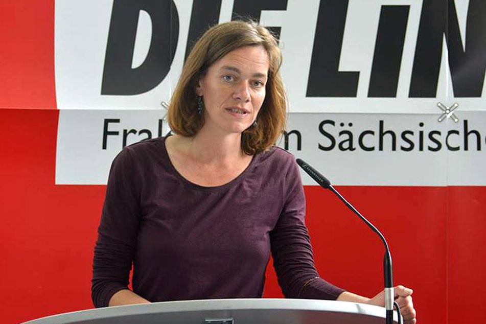 Linken-Politikerin Juliane Nagel sprach sich für die Schaffung von Drogenkonsumräumen aus.