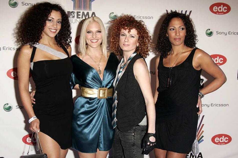 Der Anfang einer großen Karriere: Nadja Benaissa, Sandy Mölling, Lucy Diakowska und Jessica Wahls bei den MTV Europe Music Awards 2007.