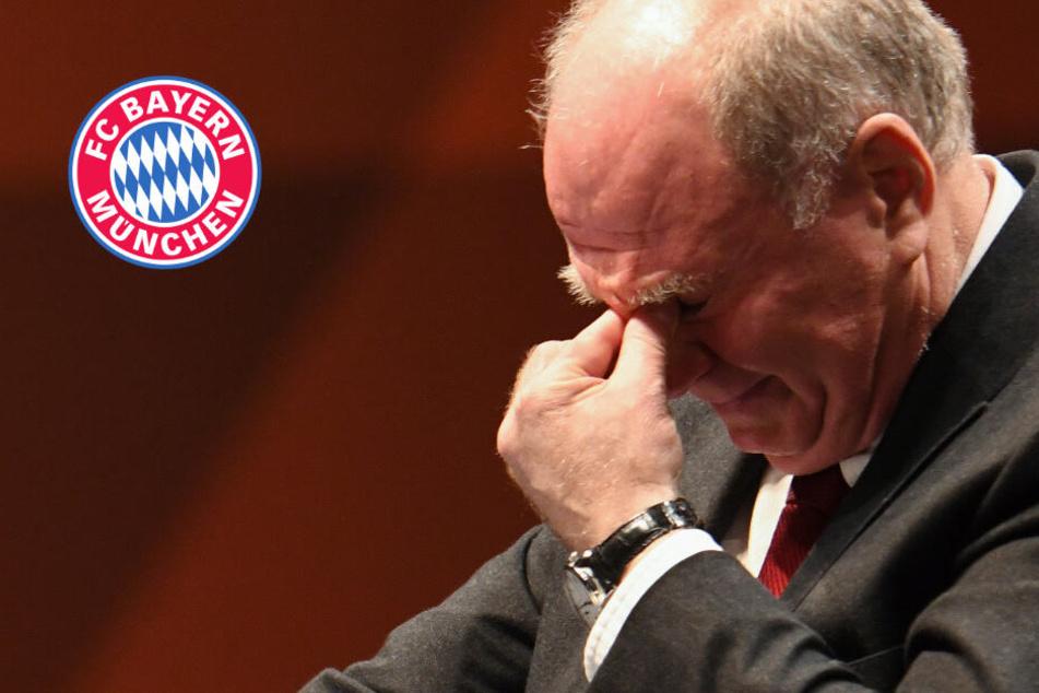 FC Bayern München verabschiedet Uli Hoeneß! Es fließen Tränen