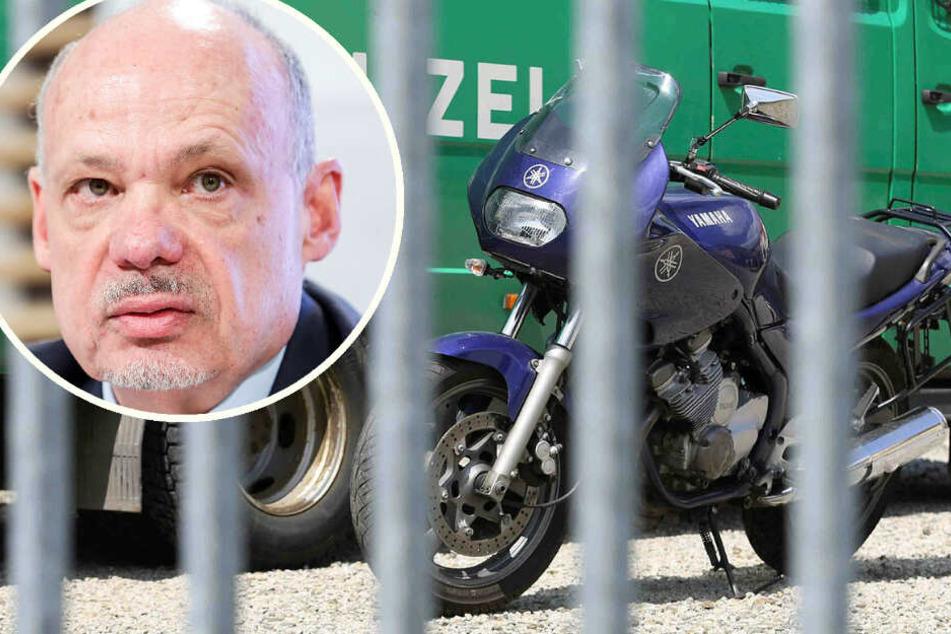 Motorradklau in Sachsen nimmt dramatische Ausmaße an