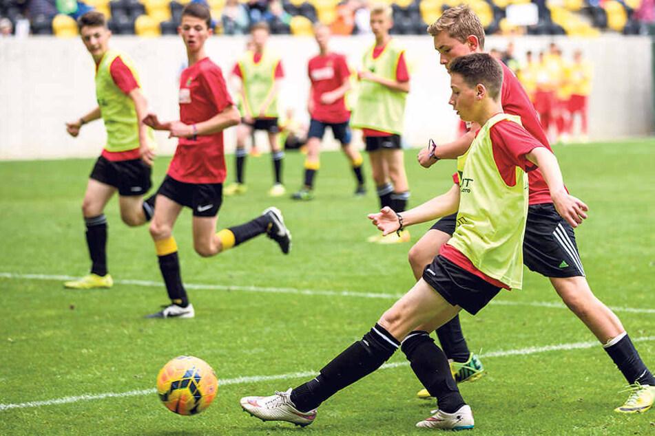 Am 18. Juni wird wieder ein Jugendturnier im DDV-Stadion veranstaltet.