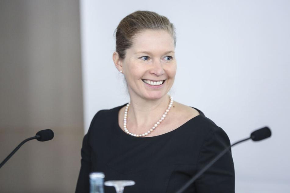 Torgaus Oberbürgermeisterin Romina Barth (36, CDU).