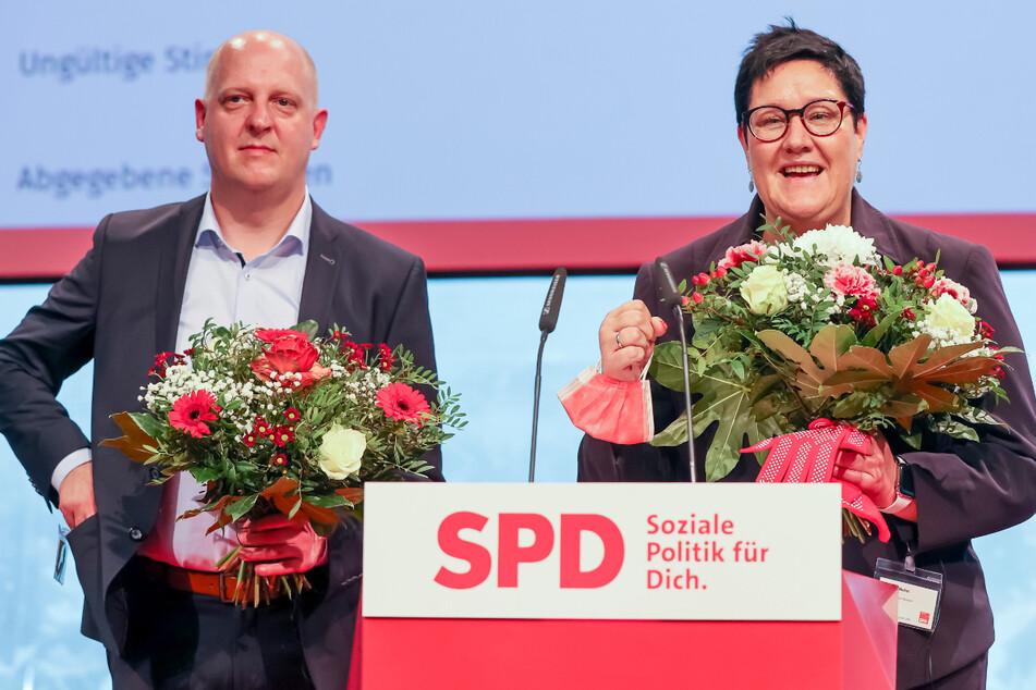 Nach zwölf Jahren Martin Dulig: Sachsen-SPD wird erstmals von Doppelspitze geführt
