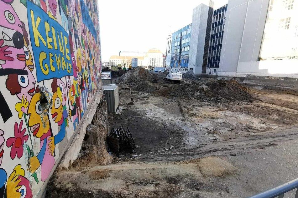 Die Baulücke ist die letzte große unbebaute Freifläche in der Innenstadt.