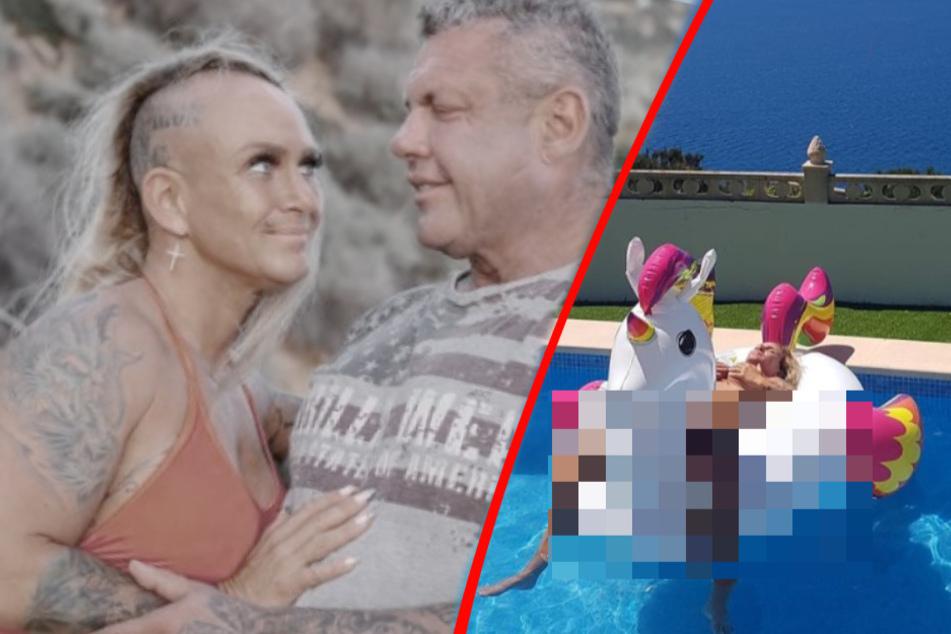 Hat Caro Robens eine Ente getötet? Hier geht die Auswanderin nackt im Pool fremd!