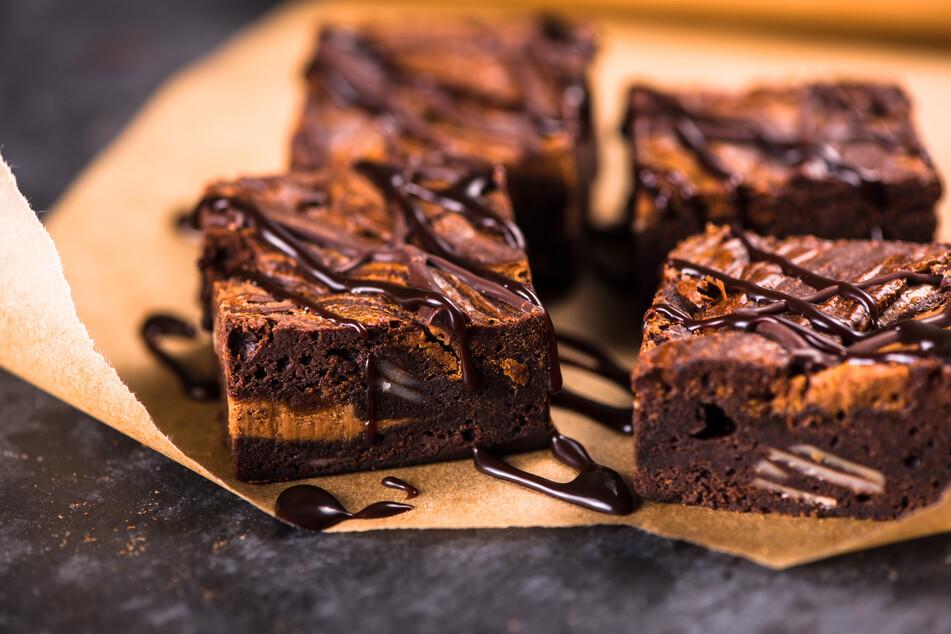Schön schokoladig: Beim Anblick von Brownies läuft einem das Wasser im Mund zusammen.