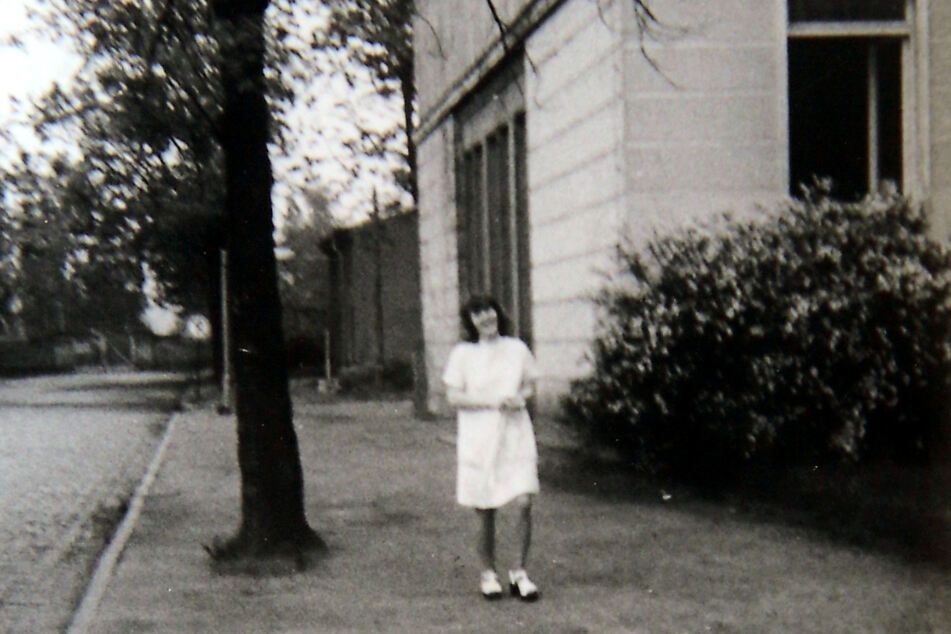 Aufnahme von 1975: Marion Hennig als angehende Krankenschwester im Uniklinikum.