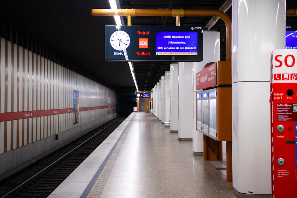 Warnstreik bei U-Bahn, Bus und Tram in München: Hier steht alles still