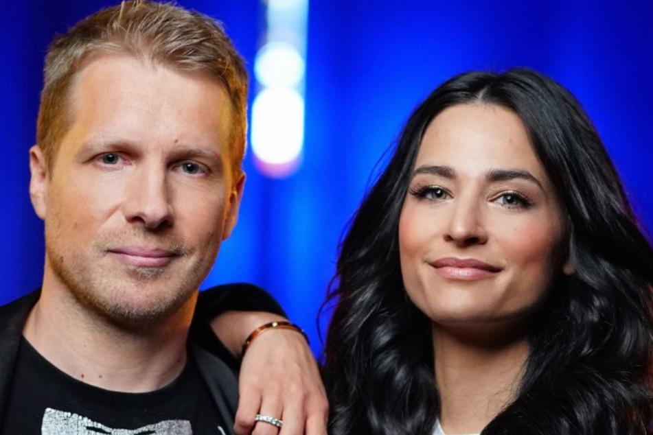 """Wegen Michael Wendler: Amira (28) und Oliver Pocher (42) lieferten ein """"Pocher Spezial"""" bei RTL ab."""