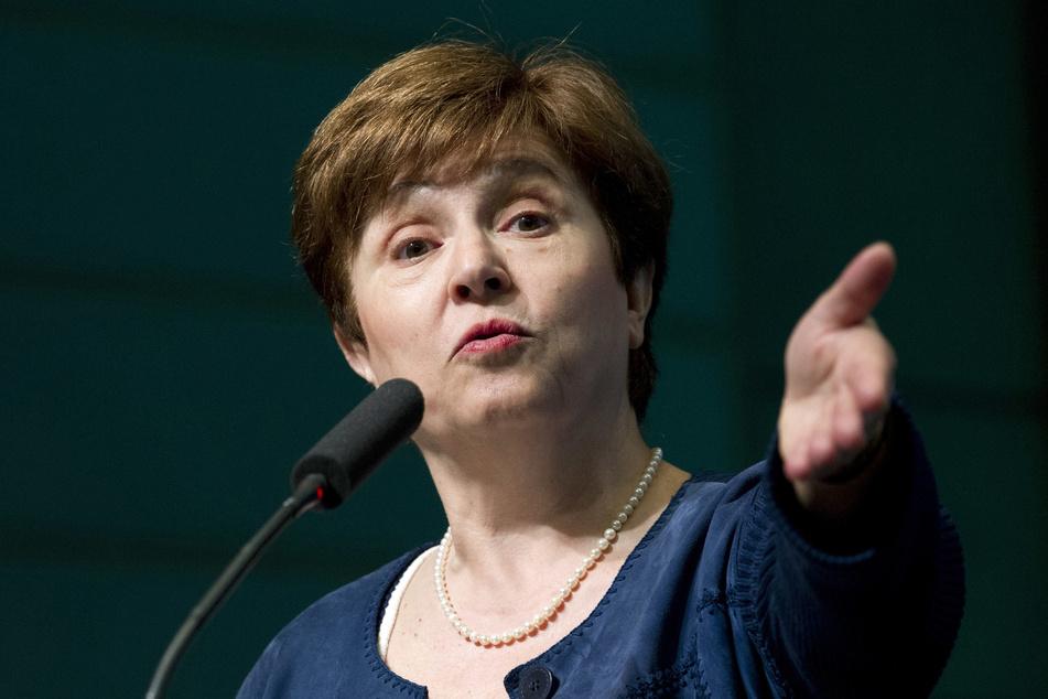 IWF-Chefin Kristalina Georgiewa (67).