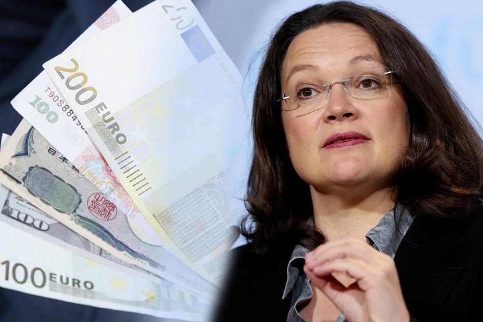 Die Beiträge müssen steigen, meint Sozialministerin Andrea Nahles (46, SPD).