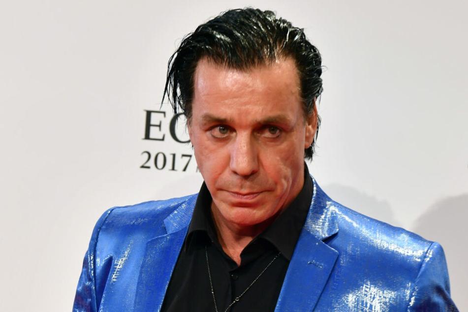 Till Lindemann, Sänger und Frontmann der Band Rammstein.