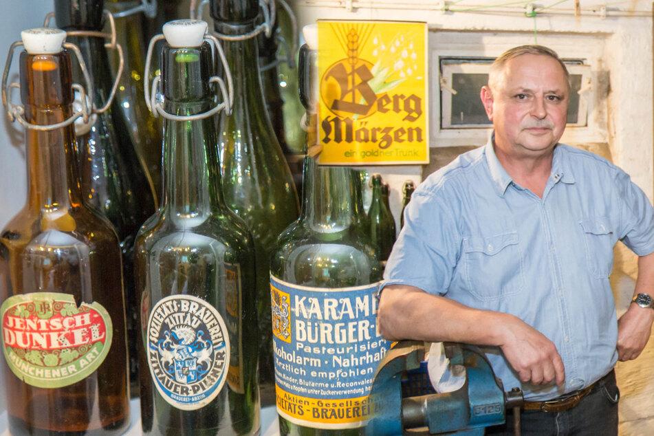 Schon 700 Raritäten im Schrank! Der Jäger der verlorenen Bierflaschen