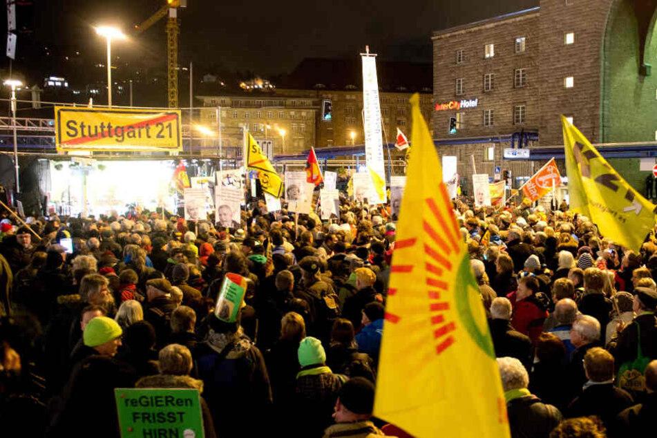 Gegen Stuttgart 21: Proteste gibt es seit 2010 in Massen.
