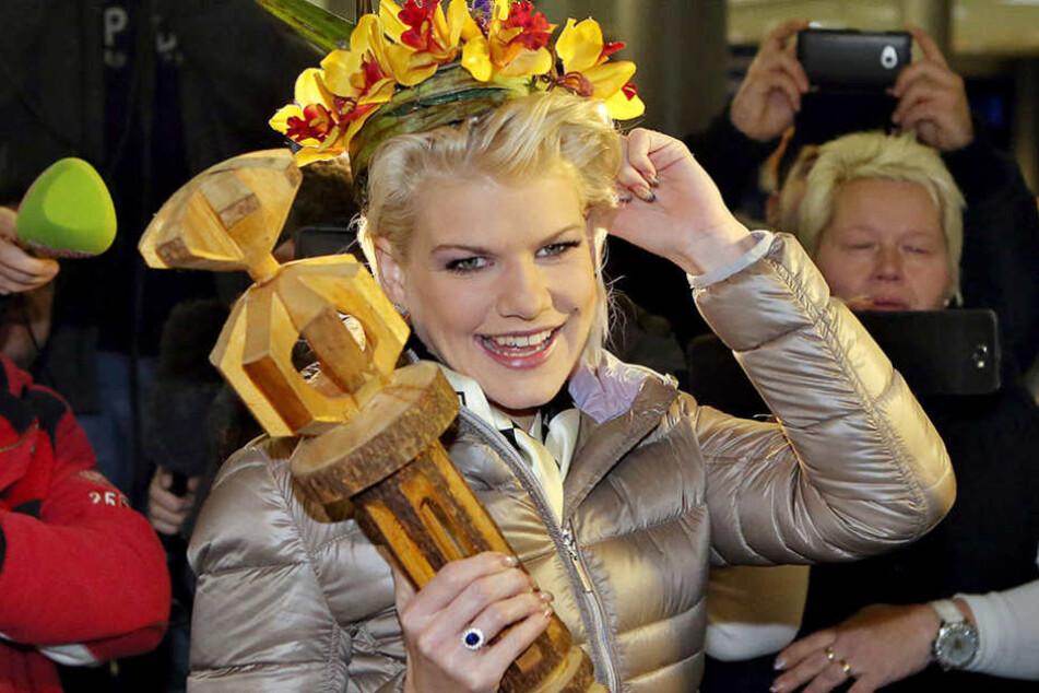 Ihr größter Triumph: Vor knapp drei Jahren wurde Melanie Müller zur RTL-Dschungelkönigin.