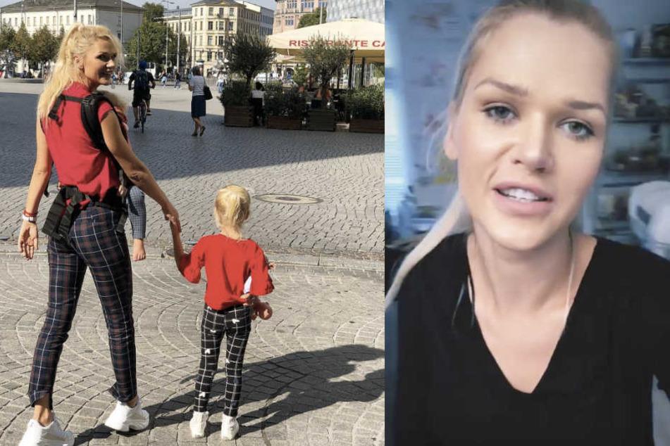 Sara Kulka hat zum Wochenstart tolle Neuigkeiten, über die sich die kleine Familie sehr freut.