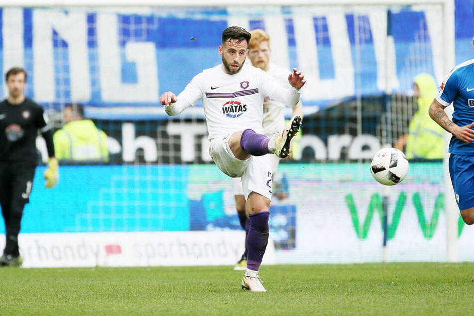 Calogero Rizzuto läuft nicht nur unheimlich viel, sondern ist auch oft am Ball.