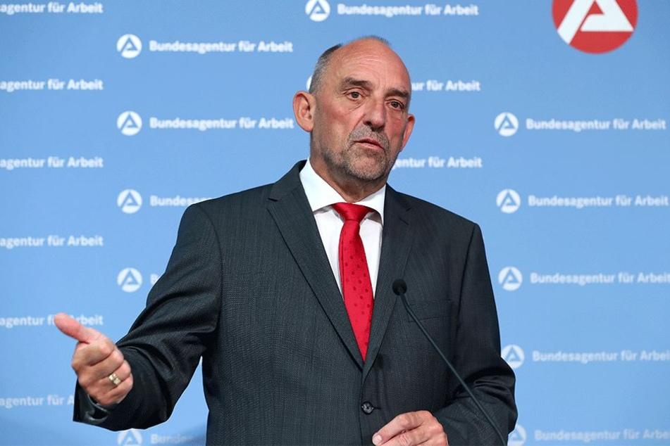 Der Vorstandsvorsitzende der Bundesagentur für Arbeit (BA), Detlef Scheele (61).