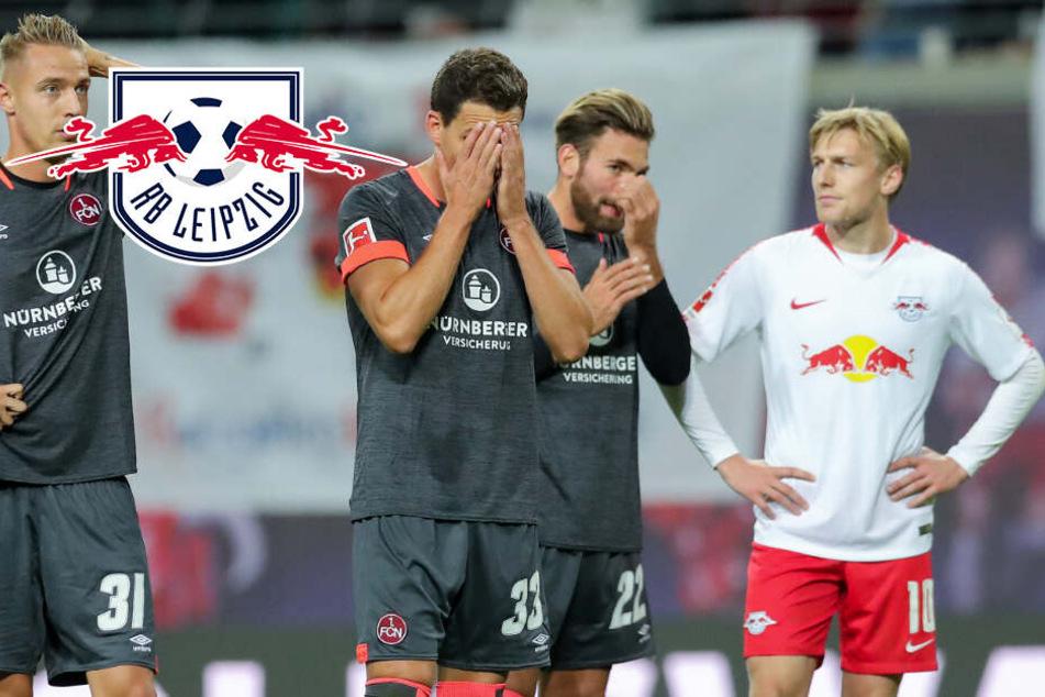 6:0 in der Hinrunde: Feiert RB Leipzig heute in Nürnberg den nächsten Kantersieg?