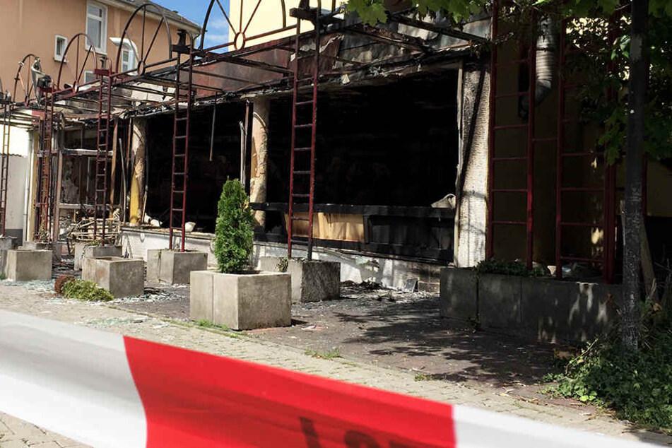 Fünf Menschen wurden bei der Explosion der Shisha-Bar verletzt.