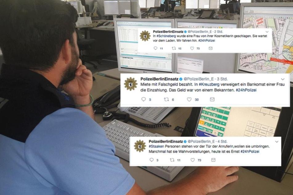 24 Stunden Polizei: Das sind die lustigsten Einsatz-Tweets
