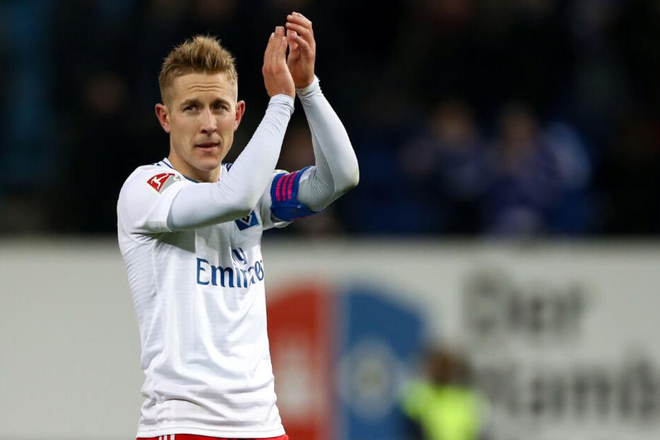 Lewis Holtby verabschiedet sich nach fünf Jahren vom Hamburger SV.