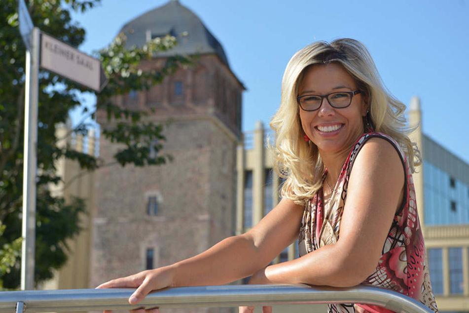 Stephanie Ringhut (35) folgte ihrer Liebe nach Chemnitz und verliebte sich in die Stadt.