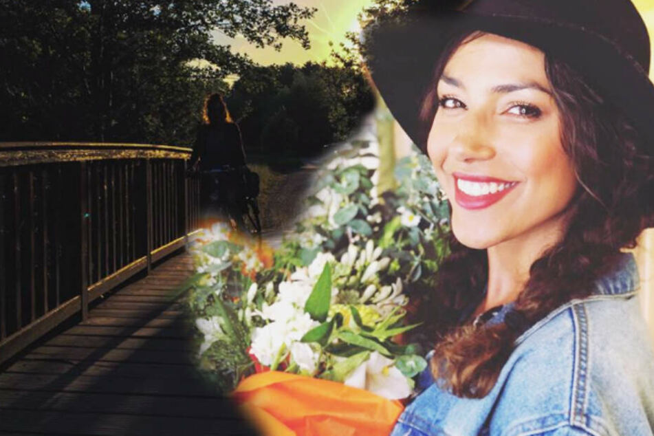 Die Schauspielerin erkundet ihre neue Zweit-Heimat am liebsten mit dem Fahrrad.
