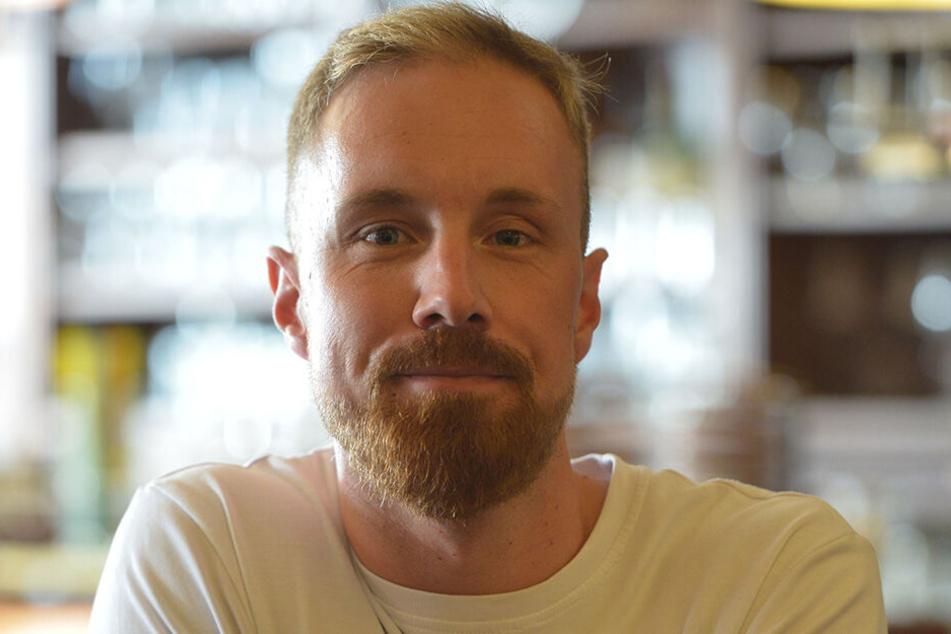Restaurantleiter André Rother (32) findet, dass die Ausbildung zum Brauer und Mälzer in der Öffentlichkeit kaum bekannt ist.