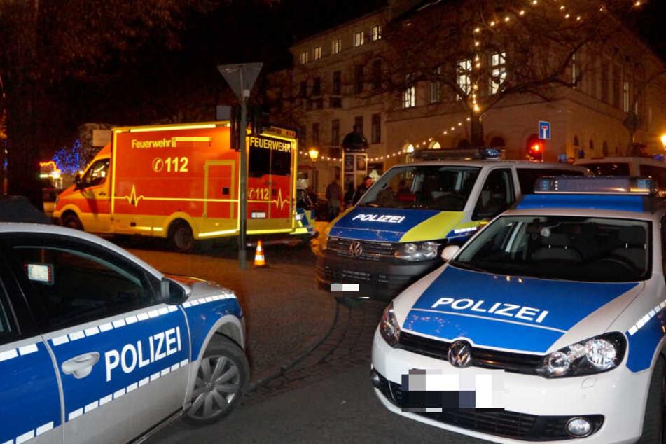 Der 18-jährige Afrikaner und seine deutsche Begleitung (23) sollen auf dem Schützenplatz in Sangerhausen von Polizei-Pensionären angegriffen worden sein. (Symbolbild)