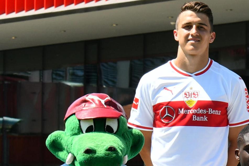 Marc Oliver Kempf (23) hofft auf sein VfB-Debüt am Freitag im Heimspiel gegen Eintracht Frankfurt.