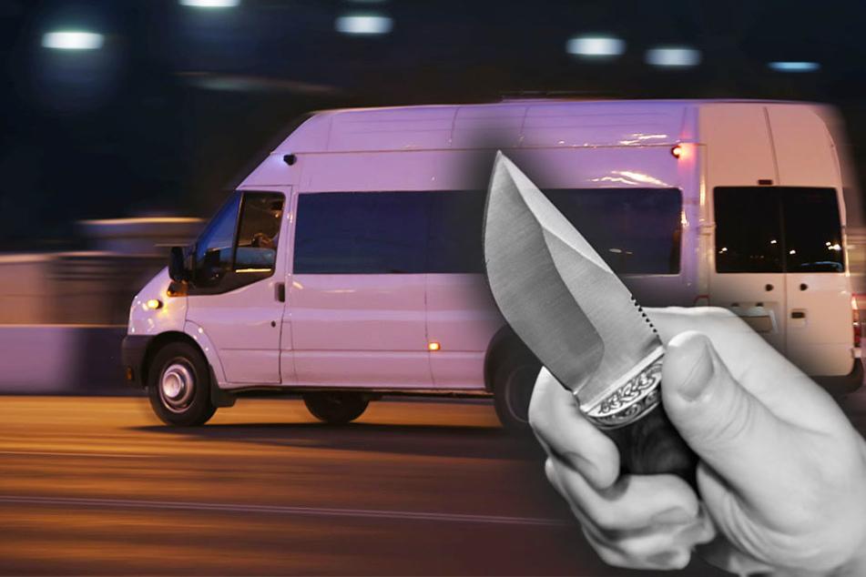 Psychisch kranker Mann entführt Bus und nimmt Fahrer als Geisel