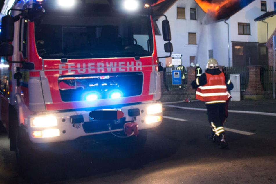 Die Feuerwehr eilte von Brand zu Brand. (Symbolbild)