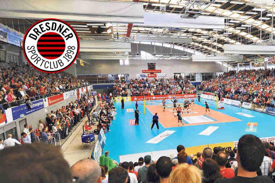 Dachschaden und zu kleine Halle:  Bekommt der DSC trotzdem keine neue Arena?