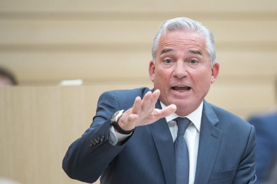 Thomas Strobl (CDU), Innenminister von Baden-Württemberg, steht nun in der Kritik, weil er die Öffentlichkeit zu spät informiert haben soll.