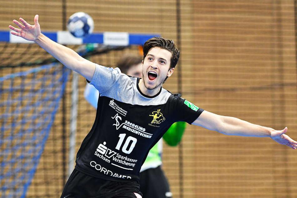 So will Nils Gugisch gegen den Dessau-Rosslauer HV wieder jubeln.