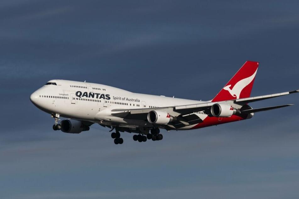 Die Frau starb auf einem Qantas-Flug von Los Angeles nach Melbourne.